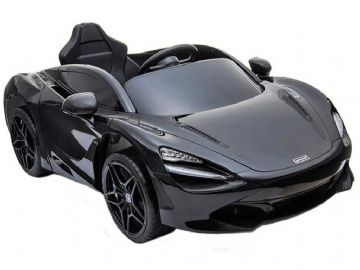 McLaren 720S Black Licenced 12v Electric Ride on Car with Parental Control